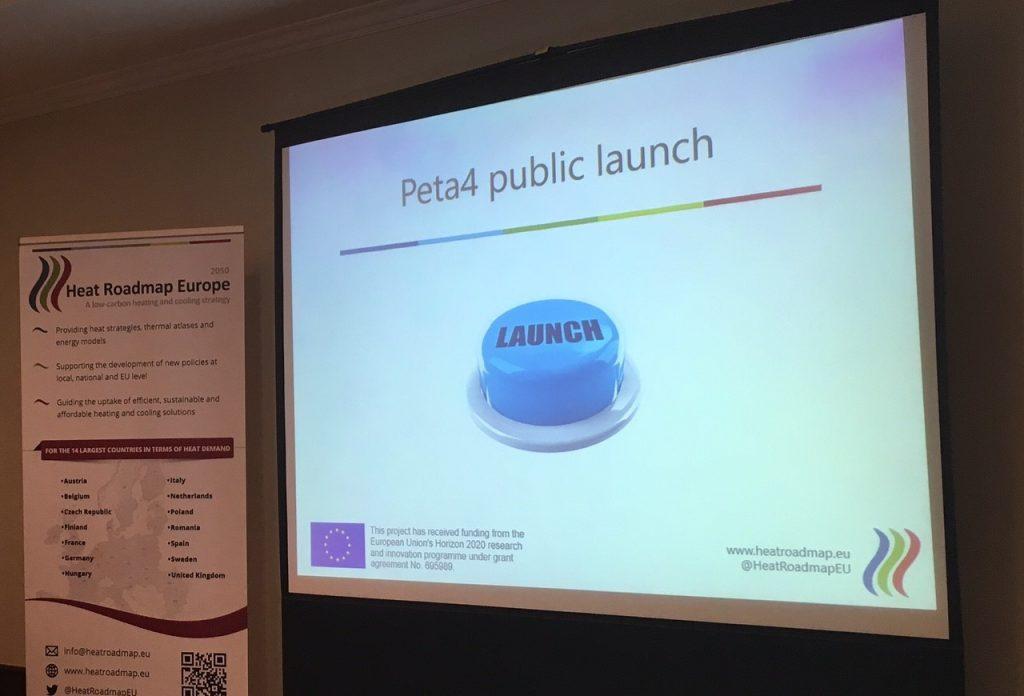 Heat Roadmap Europe 4 Workshop& Pan-European Thermal Atlas (Peta4) Launch Event!